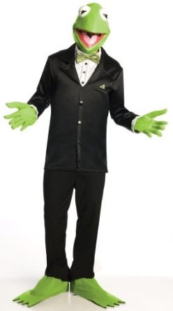 Muppets Kermit The Frog Costume And Mask --- http://www.pinterest.com.yolo.bz/3g