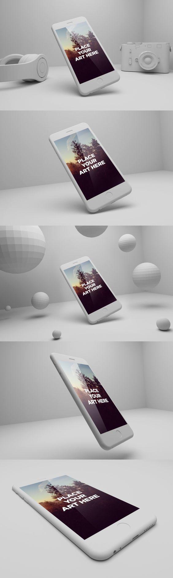 New FREE iPhone 6 PSD Playful Mockup Download free here: http://freegoodiesfordesigners.blogspot.se/2014/11/free-iphone-6-plus-playful-psd-mockups.html: