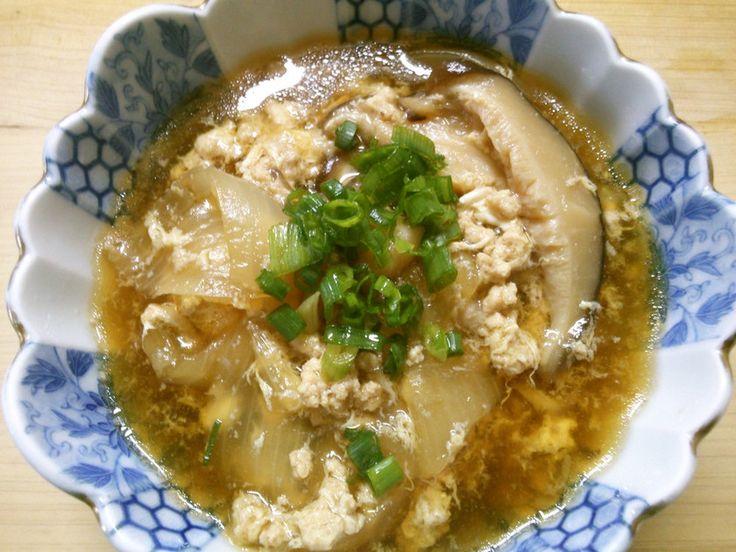 簡単! 鶏ひき肉 玉ねぎ 卵の 和風煮♪ by 331ミミイ [クックパッド] 簡単おいしいみんなのレシピが226万品