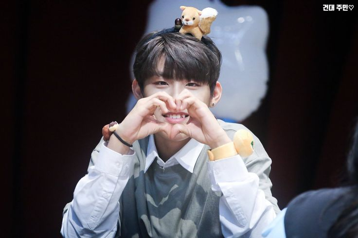 WANNA ONE PARK WOOJIN ♡ ©건대 주민