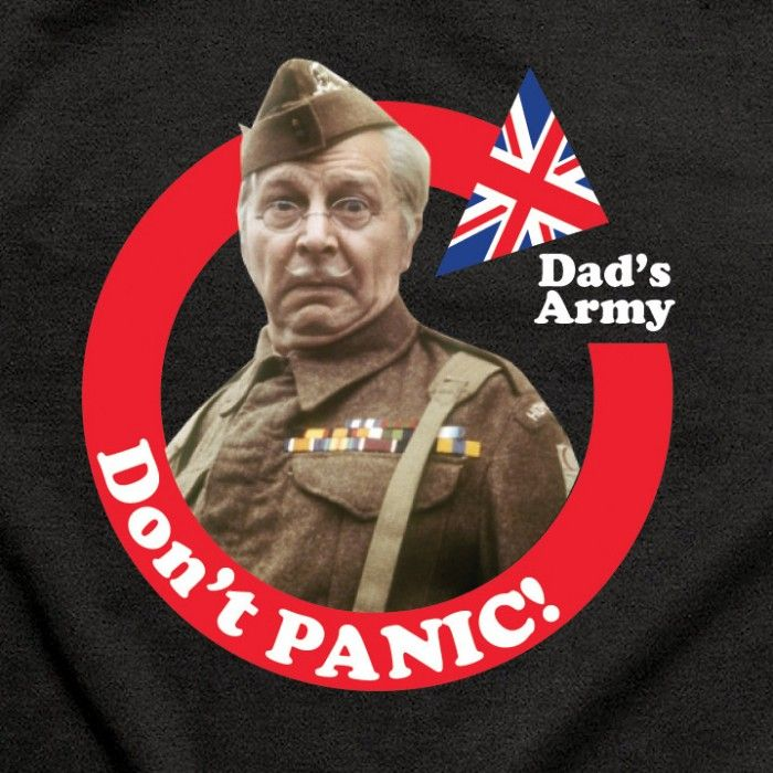 Image result for corporal jones don't panic