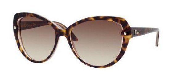 Dior xlt Havana Pondichery 1 Cats Eyes Sunglasses #shoes #christiandior #sports_sunglasses #accessories #sunglasses #shops #women #departments