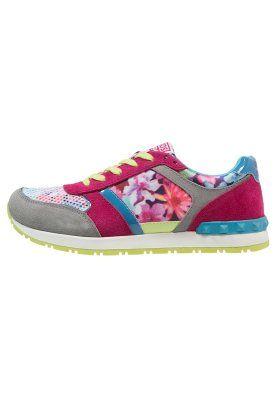 STETIC - Sneakers basse - framboise
