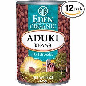 Eden Organic Aduki Beans, No Salt Added, 15-Ounce Cans (Pack of 12)Gourmet Food, Salts Ads, Aduki Beans, 15 Ounce, Pack, Organic Aduki, Mr. Beans, Eden Organic, Grains Reviews