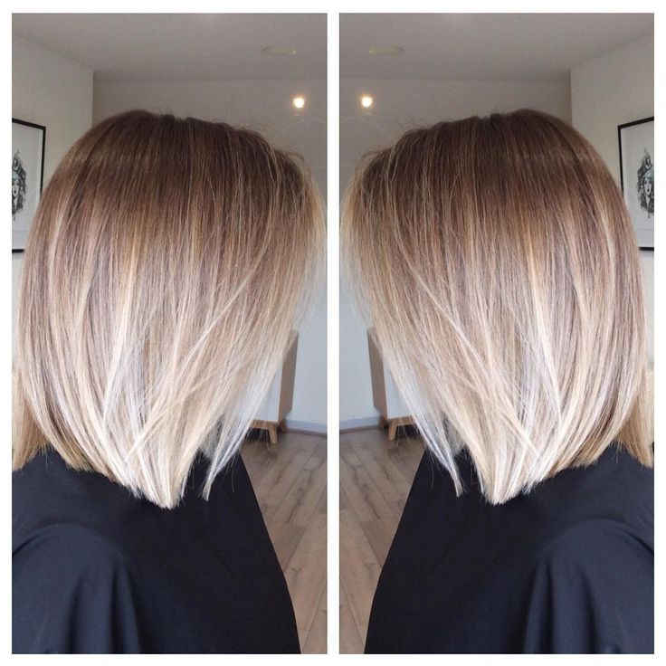 Image result for balayage ombre bob