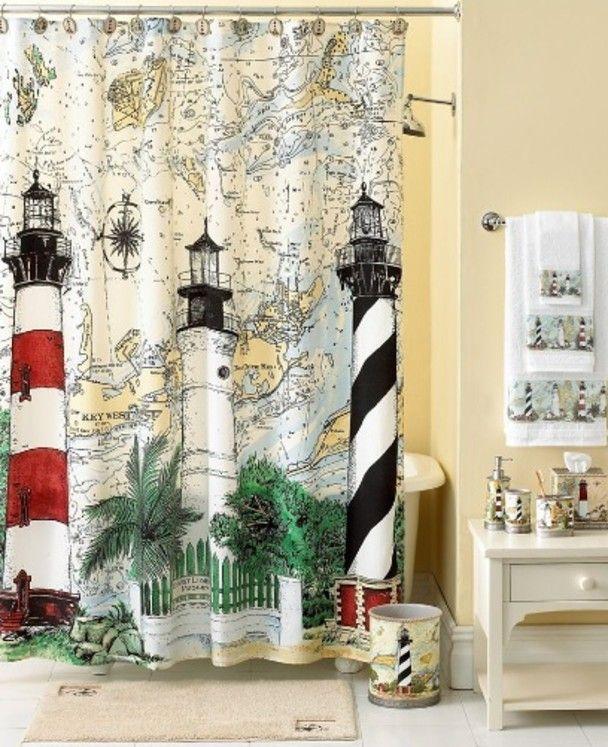 Bathroom Decorating Ideas Nautical Bathroom Decor Nautical Theme Bathroom Lighthouse Bathroom