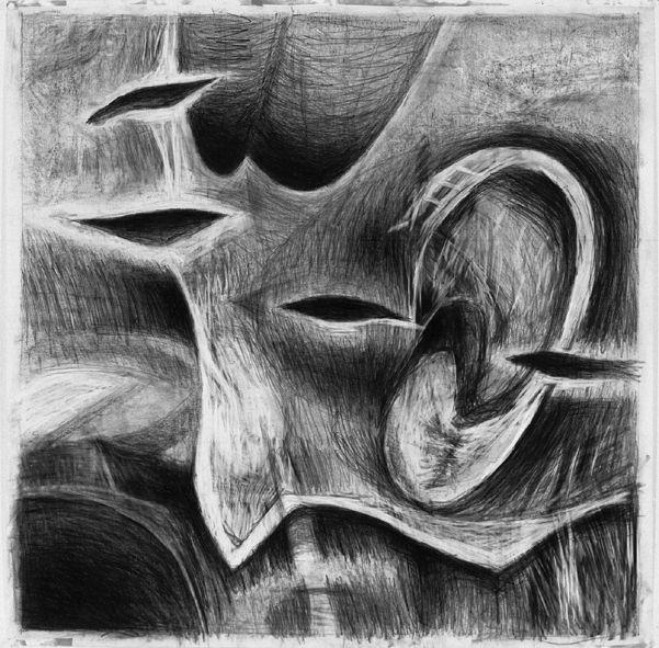 Eva Holmstedt      Bildsvit 4       Drawing