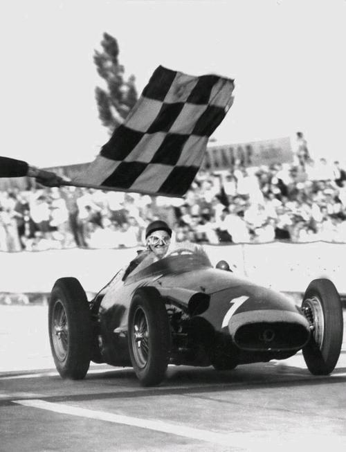 Fangio's final victory, German GP, 1957