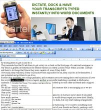 Lawyers Dictation Recorder & Voice to Text Automatic Typing Software Package