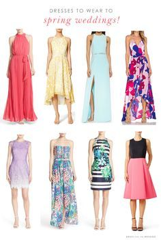 Lovely Spring Wedding Guest Dresses For 2016 Amazing Ideas