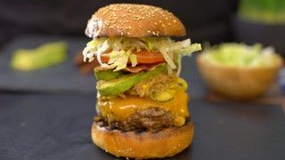 The Sweet and Spicy Burger Recipe | The Chew - ABC.com