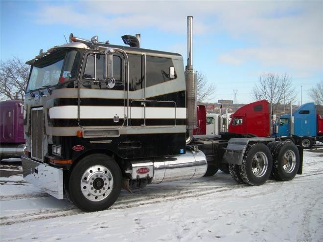 Peterbilt Cabover Trucks for Sale   Trucks Cabover Classic ...