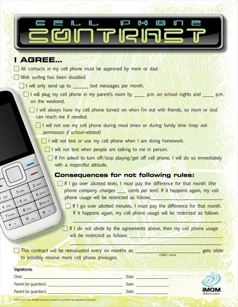 Best 25+ Teen cell phone contract ideas on Pinterest Pixel cell - free printable contracts