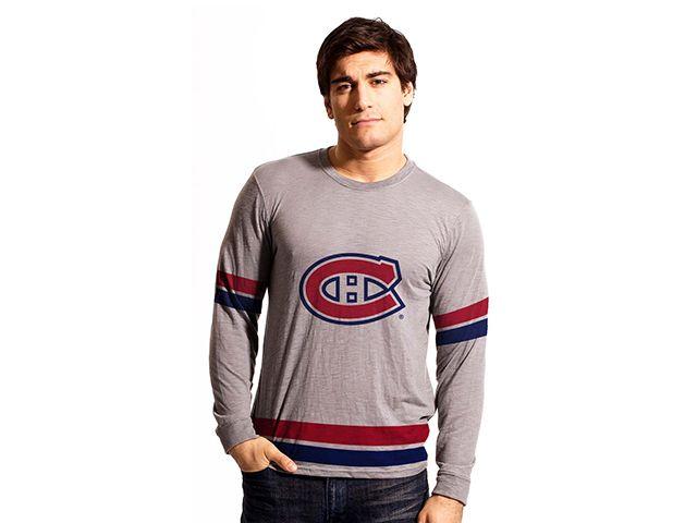 Chandail de mêlé à manches longues des Canadiens de Montréal