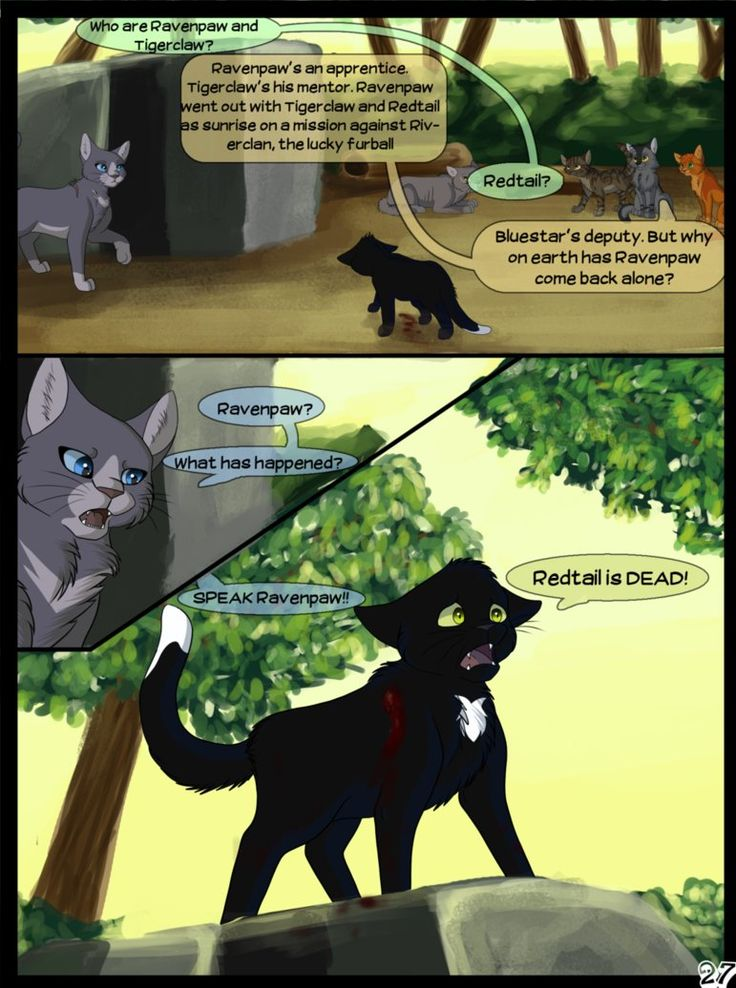 Warriors Into the Wild Page 27 by SassyHeart on DeviantArt