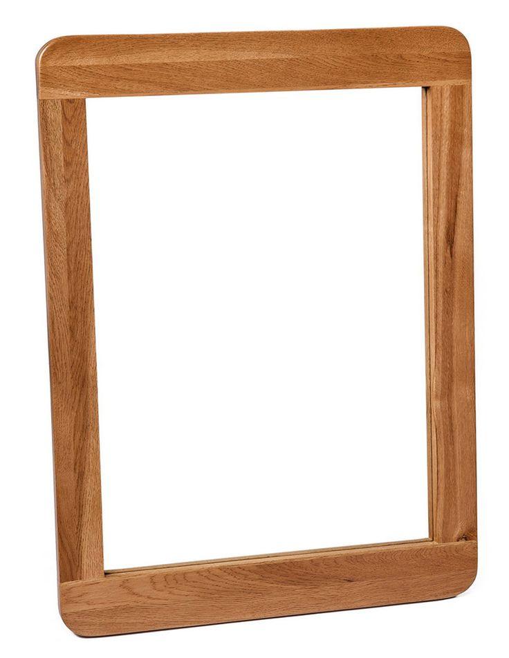 Knightsbridge Oak Large Mirror