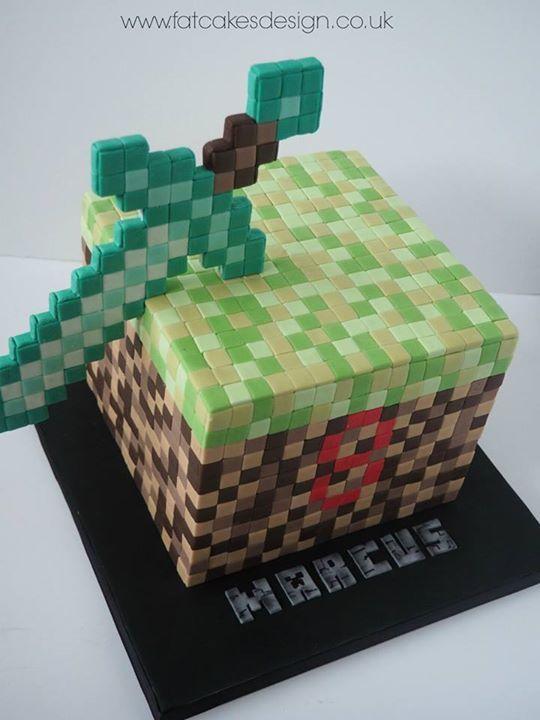 59 Best Lego-Minecraft Cake Images On Pinterest