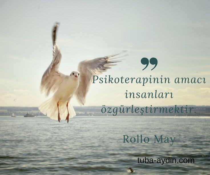 #psikoterapi #hümanistyaklasım #hümanist #özgürlük #rollomay