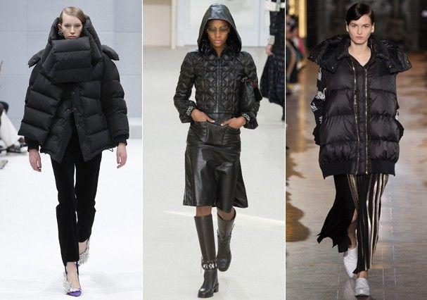 DOUDONE Balenciaga, Chanel e Stella McCartney na Semana de Moda de Paris Inverno 2017 (Foto: Imaxtree)