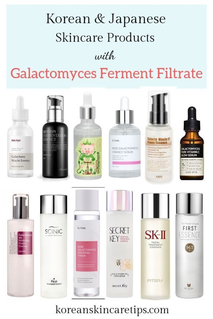 Galactomyces Ferment Filtrate The Best Korean And Japanese Skincare Products Japanese Skincare Korean Skincare Japanese Skincare Routine