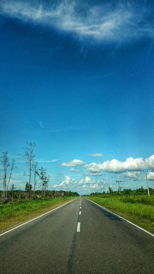 Country Road @ Katingan District, Central Kalimantan