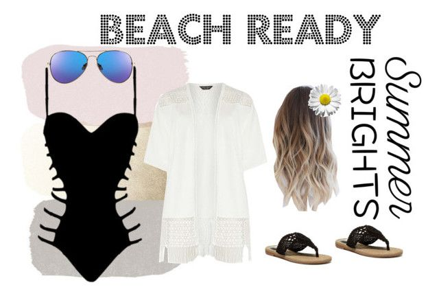 """Beach Ready"" by booksandeverydayfashion on Polyvore featuring Dorothy Perkins, Agent Provocateur and MIA"