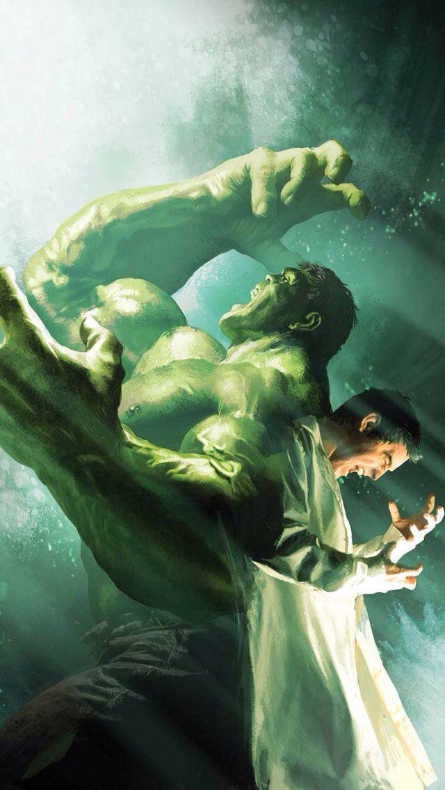 Bruce Banner/The Hulk..... The struggle