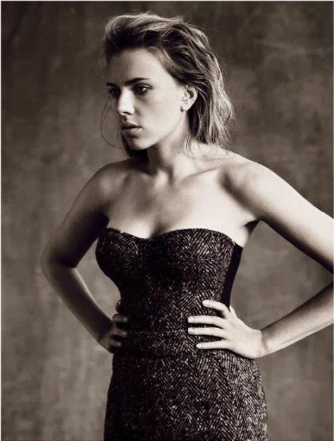 Scarlett Johansson for Vogue Italia October 2013