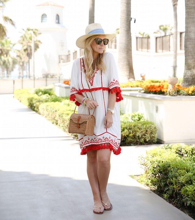 Parker NY бахромой платье