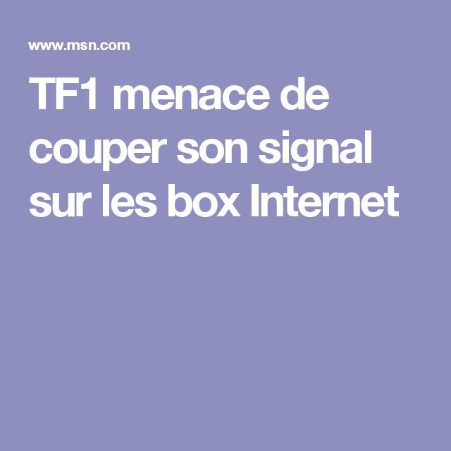 TF1 menace de couper son signal sur les box Internet