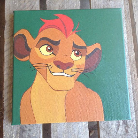 The Lion Guard Kids Acrylic Artwork Room Decor Cartoon