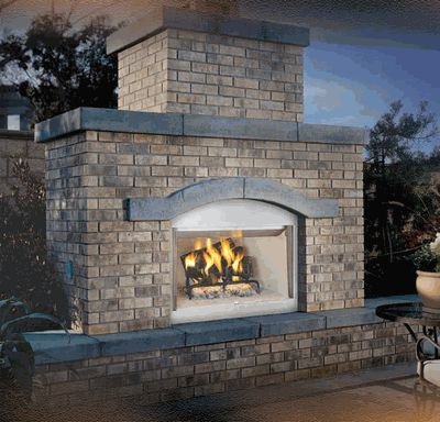 37 best images about outdoor fireplaces on Pinterest