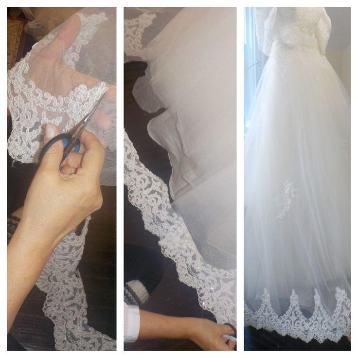 Custon Made Wedding Gown