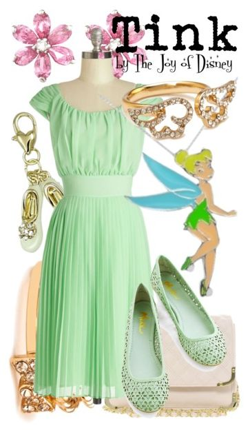 Outfit inspired by Tinkerbell!