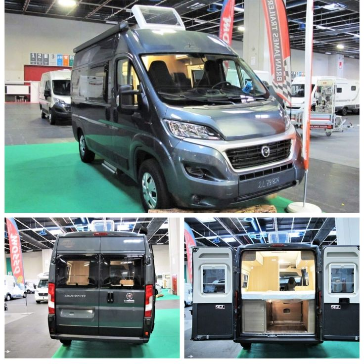 Carado Vlow 540: camper furgonato nuovo con letto ...