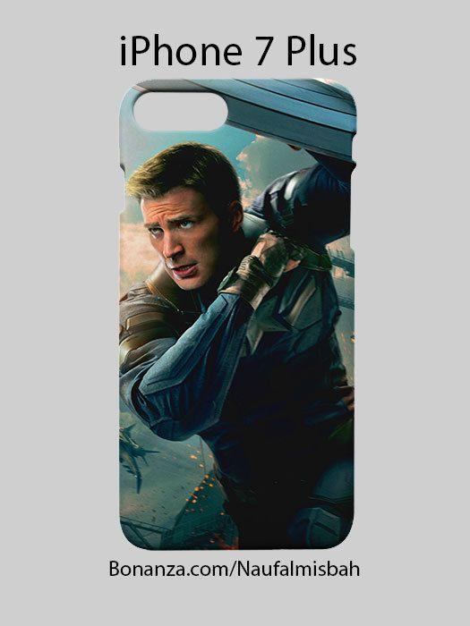 Captain America Superhero iPhone 7 PLUS Case Cover Wrap Around