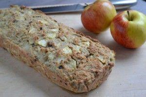 Suikervrij Amandel Appeltaart Brood - Blij Suikervrij
