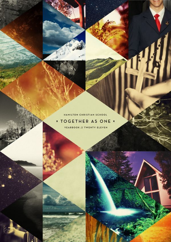 Hamilton Christian School Yearbook - 2011  (Designer: Daniel Nelson for From Up North graphic design)