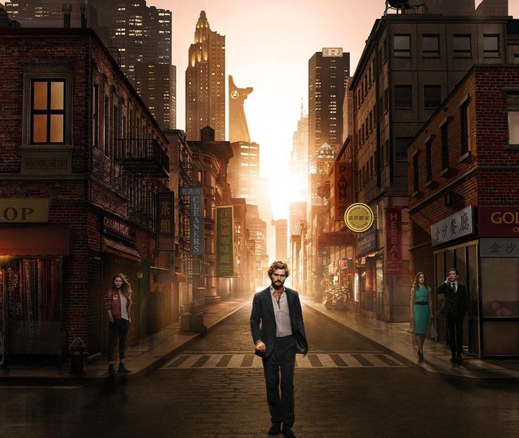 3 down 10 to go. First thoughts: So far so good. We're liking it. What we also like is the skyline in one of the latest Iron Fist promo pics. Do you? ;) #ironfist #netflix #marvel #marvelcomics #mcu #marvelcinematicuniverse #skyline #newyork #iloveny #avengers #tower #avengerstower #theavengers #avengersinfinitywar #spidermanhomecoming #guardiansofthegalaxy #thorragnarok