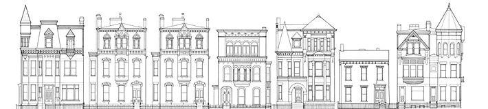 Research: Chapline Street Row Historic District. Mark L. Hall, Ed Freeman, ca. 1976. (Library of Congress)