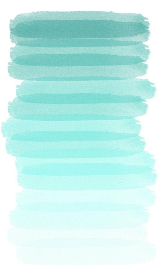 ombre seafoam