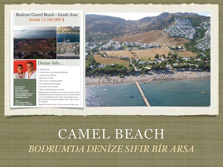 Bodrum'da gün geçtikçe değerlenecek, mavi bayrak deniziyle her türlü turizm tesisi olabilecek bir arsa. Bodrum yarım adasında kuracağınız işletme ya da inşa edeceğiniz projeler ile yıldız olabilecek sayılı arsalardan bir tanesi... #KellerWilliams #Bodrum #CamelBeach