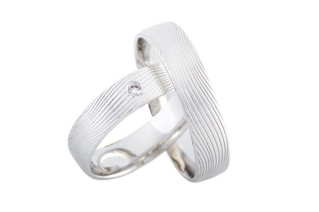 Snubní prsteny - model č. 304/02