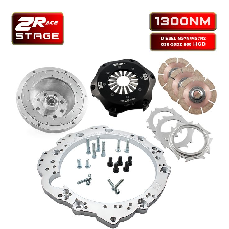 STAGE 2 800NM ADAPTER KIT TOYOTA JZ to to BMW e60 530D