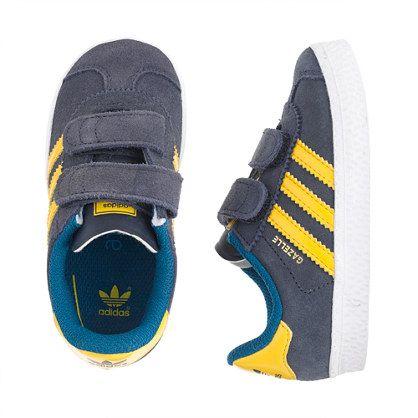 J.Crew - Kids\u0027 junior Adidas� gazelle sneakers in black