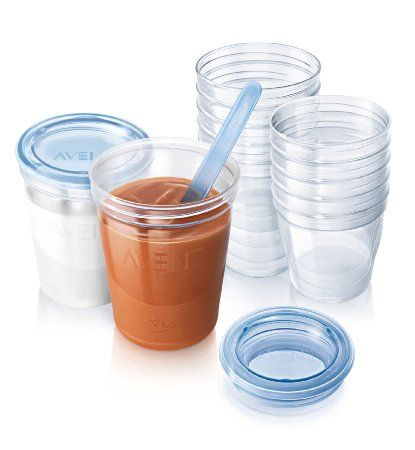 Philips AVENT Baby Food Storage Set I hated the ones that came with my baby bullet....looking for something better