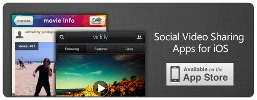 7 Social Video Sharing Apps for iOS