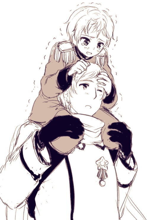 Stop. Repin this picture of Russia holding Latvia on his shoulders. Continue. <<< Will do. Done. ^.^ Will continue after I get over the insane level of cuteness this picture contains.