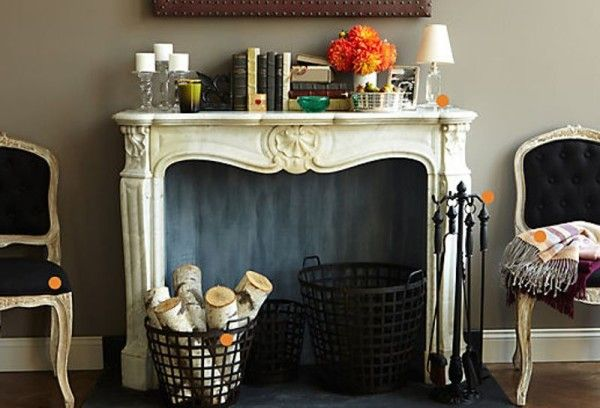 Non working fireplace decorating ideas for the home - Non working fireplace decor ...