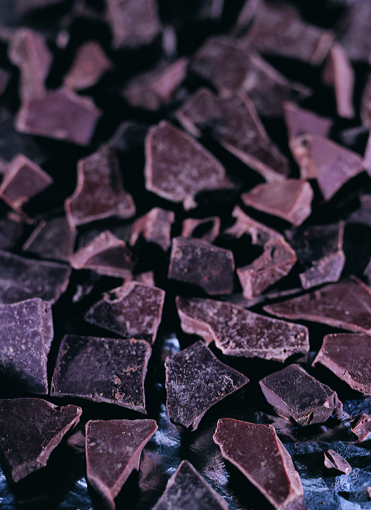 Don't these chocolate pieces make you hungry?